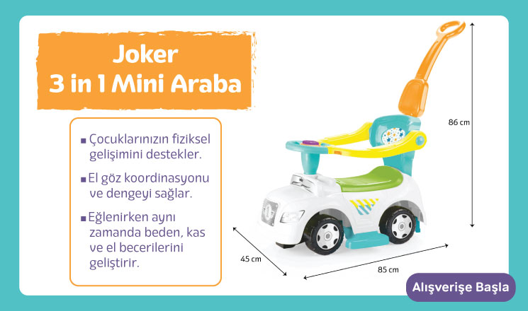 Joker Mini Araba