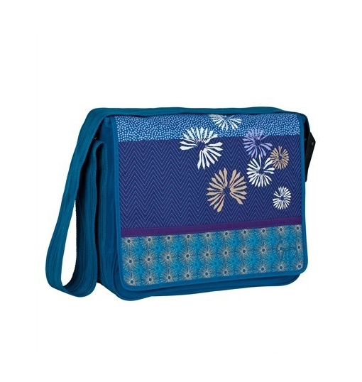Lassig Casual Messenger Çantası / Bloom Petrol