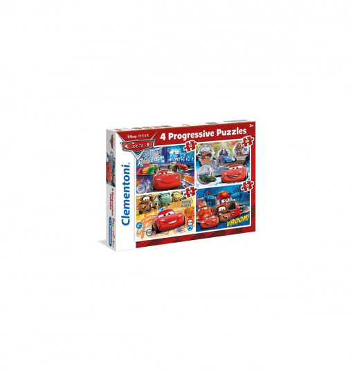 Clementoni Puzzle 4In1 Cars