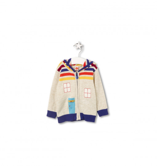 Tuc Tuc Boys Knıtted Jacket New Town