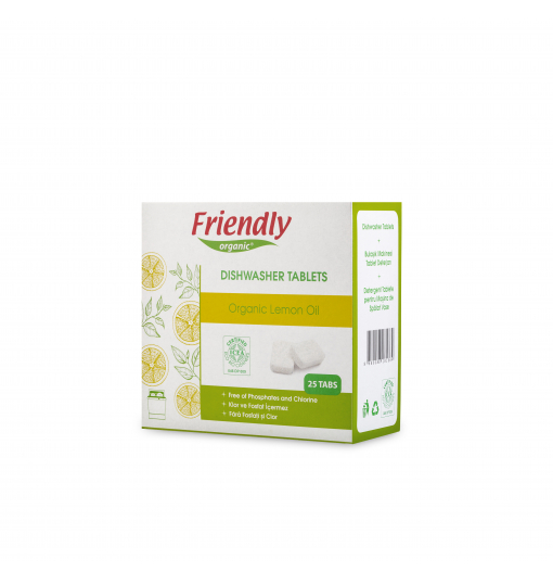 Friendly Organic Bulaşık Makinesi Tablet Deterjanı